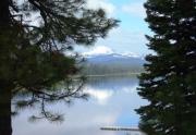 Lassen Peak from West Shore