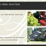 Wine Tasting Invitation, Front