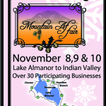 2013 Lake Almanor to Indian Valley Shopping Tour