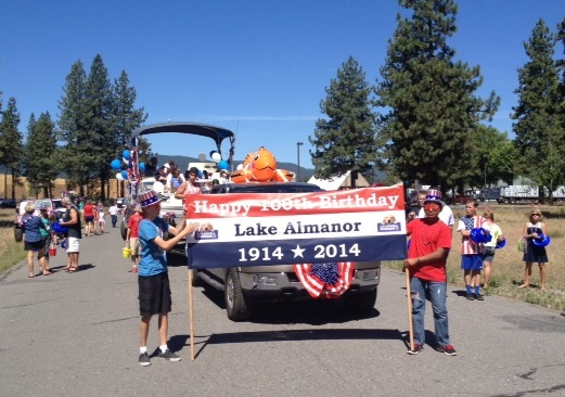 A Shout Out to Lake Almanor's Centennial 1914-2014 t