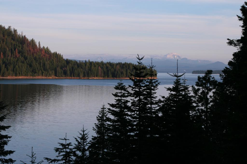 View of Lassen from West Shore