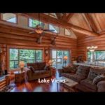Handcrafted Log Home with gorgeous views of Lake Almanor